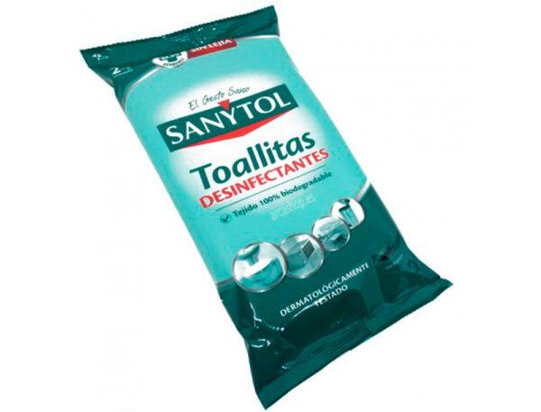 toallitas higienicas sanytol